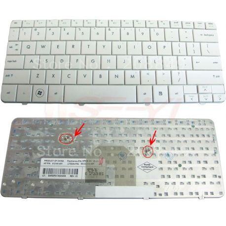 KEYBOARD HP PAVILION DV2 DV2Z DV2-1000 DV2-1100 DV2-1200 DV2-1020 SERIES PUTIH