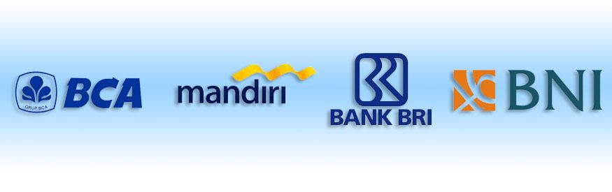Daftar bank yang tersedia