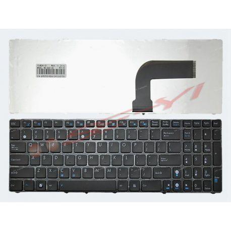 Keyboard Asus K52 K52F K52JB K52JC K55N K73 A52 A52J G51 G51J G53 G60 G60V G72 G73 ( Black with Frame )