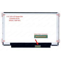"""LED LCD 11.6"""" SLIM (40 Pin Kiri Kanan)"""
