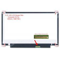 """LED LCD 11.6"""" SLIM (30 Pin Atas Bawah)"""