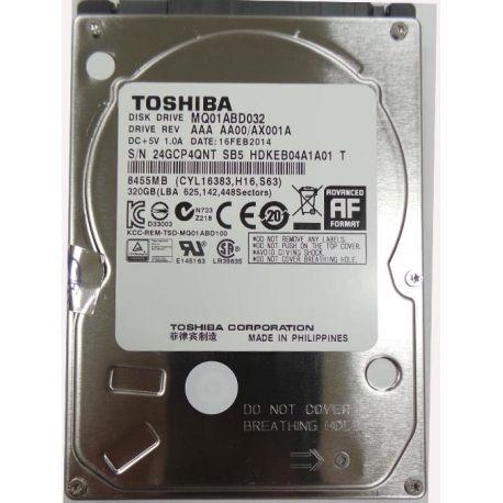 HDD TOSHIBA 320GB